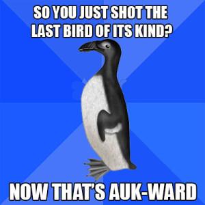 aukward