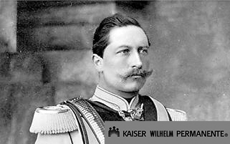 KAISER WILLIAM OF PRUSSIA AND HIS WIFE